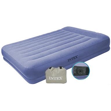 Кровать надувная двуспальная Intex 67748 (203х152х38 см)