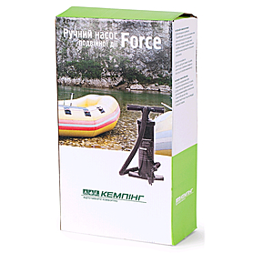 Фото 6 к товару Насос ручной для мебели и лодок Кемпинг ''Force''