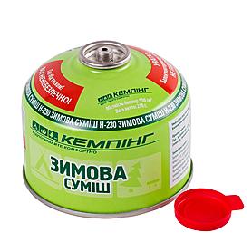 Баллон газовый резьбовой Кемпинг 230 г