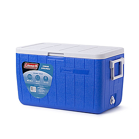 Фото 1 к товару Термобокс Cooler 48QT Blue No Tray