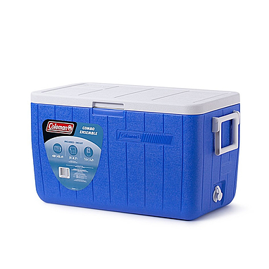 Термобокс Cooler 48QT Blue No Tray