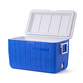 Фото 3 к товару Термобокс Cooler 48QT Blue No Tray