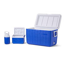 Комплект термобоксов Cooler 48QT BL CMBO, 5QT, .3GAL