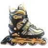 Коньки роликовые раздвижные Profi 3021 желтые - фото 1
