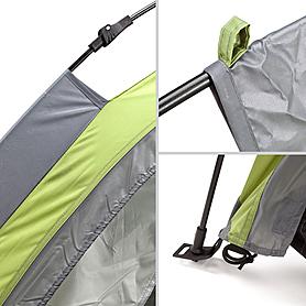 Фото 3 к товару Палатка двухместная Touring 2 Easy Click Кемпинг