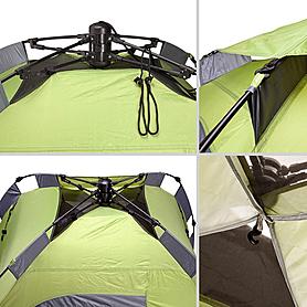 Фото 4 к товару Палатка двухместная Touring 2 Easy Click Кемпинг