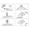 Палатка трехместная Transcend 3 Easy Click Кемпинг - фото 8
