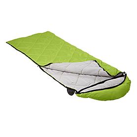 Фото 2 к товару Мешок спальный (спальник) Кемпинг Peak с капюшоном салатовый