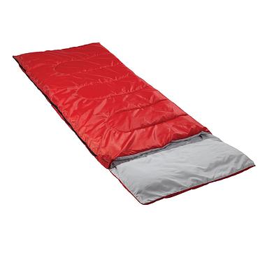 Мешок спальный (спальник) Кемпинг Rest с подушкой красный