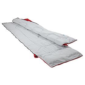 Фото 3 к товару Мешок спальный (спальник) Кемпинг Rest с подушкой красный