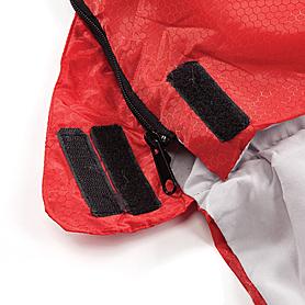 Фото 6 к товару Мешок спальный (спальник) Кемпинг Rest с подушкой красный