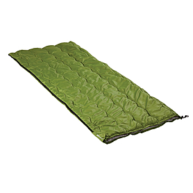 Фото 1 к товару Мешок спальный (спальник) Кемпинг Solo зеленый