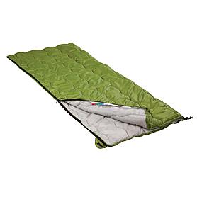 Фото 2 к товару Мешок спальный (спальник) Кемпинг Solo зеленый