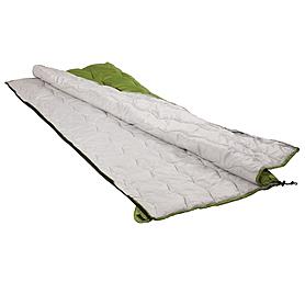 Фото 3 к товару Мешок спальный (спальник) Кемпинг Solo зеленый