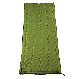Фото 4 к товару Мешок спальный (спальник) Кемпинг Solo зеленый