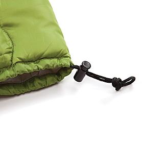 Фото 5 к товару Мешок спальный (спальник) Кемпинг Solo зеленый