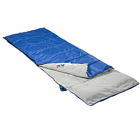 Фото 1 к товару Мешок спальный (спальник) Кемпинг Rest с подушкой синий