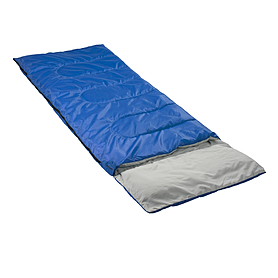 Фото 2 к товару Мешок спальный (спальник) Кемпинг Rest с подушкой синий