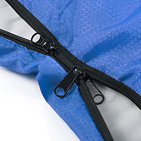 Фото 5 к товару Мешок спальный (спальник) Кемпинг Rest с подушкой синий