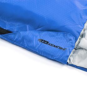Фото 7 к товару Мешок спальный (спальник) Кемпинг Rest с подушкой синий