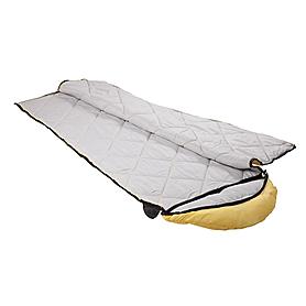 Фото 3 к товару Мешок спальный (спальник) Кемпинг Peak с капюшоном желтый