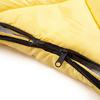 Мешок спальный (спальник) Кемпинг Peak с капюшоном желтый - фото 4