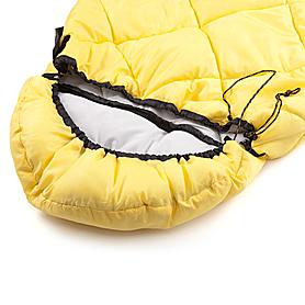 Фото 5 к товару Мешок спальный (спальник) Кемпинг Peak с капюшоном желтый