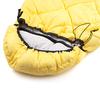 Мешок спальный (спальник) Кемпинг Peak с капюшоном желтый - фото 5