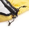 Мешок спальный (спальник) Кемпинг Peak с капюшоном желтый - фото 6