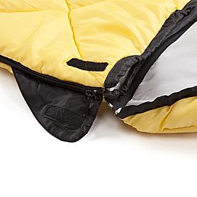 Фото 7 к товару Мешок спальный (спальник) Кемпинг Peak с капюшоном желтый
