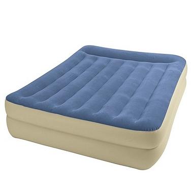 Кровать со встроенным насосом  67714 Intex (203x152x47 см)