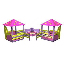Песочный дворик Kinderland Барби 2.01