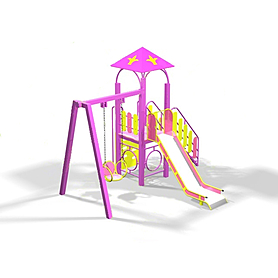 Комплекс игровой Kinderland Барби 1.03