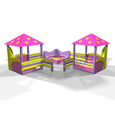 Комплекс игровой Kinderland Барби 2.01