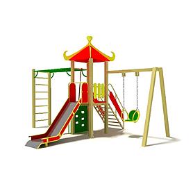 Фото 1 к товару Комплекс игровой Kinderland Универсал