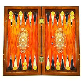 Фото 1 к товару Нарды деревянные 33x34 см