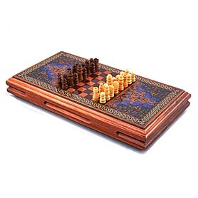 Фото 4 к товару Нарды деревянные 33x34 см