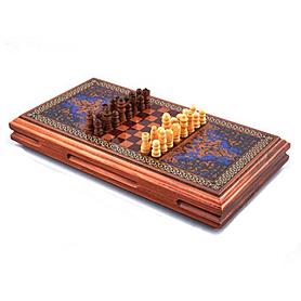 Фото 2 к товару Нарды деревянные 42x46 см