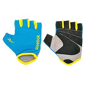 Перчатки для фитнеса Reebok голубые