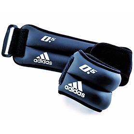 Фото 1 к товару Утяжелители для рук и ног Ankle/Wrist Adidas 2 шт по 0,5 кг