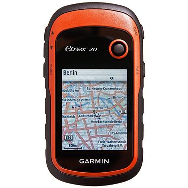 Портативный GPS навигатор Garmin eTrex 20 с картой НавЛюкс