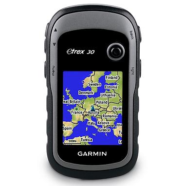 Портативный GPS навигатор Garmin eTrex 30 с картой НавЛюкс