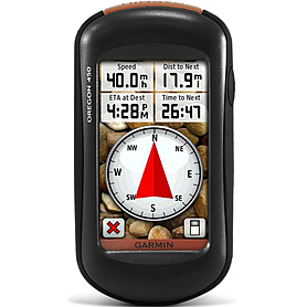 Портативный GPS навигатор Garmin Oregon 450 с картой НавЛюкс