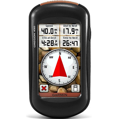 Портативный GPS навигатор Garmin Oregon 450 без карты НавЛюкс