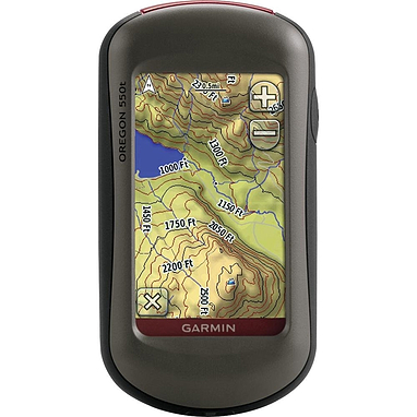 Портативный GPS навигатор Garmin Oregon 550T с картой НавЛюкс