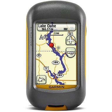 Портативный GPS навигатор Garmin Dakota 10 с картой НавЛюкс