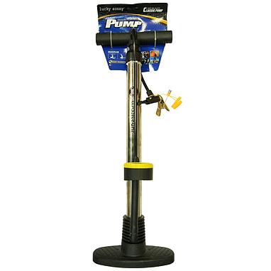 Насос напольный ручной для велосипедов, мячей Luky Sonny XYB-221