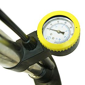 Фото 2 к товару Насос напольный ручной для велосипедов, мячей Luky Sonny XYB-221