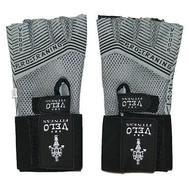 Перчатки спортивные с напульсником Velo VL-3222
