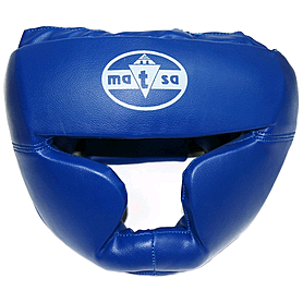 Фото 1 к товару Шлем тренировочный Matsa PVC синий
